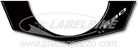 ADESIVO 3D PROTEZIONE ACCENSIONE PER YAMAHA TMAX T MAX 530 2012 BIANCO CARBON