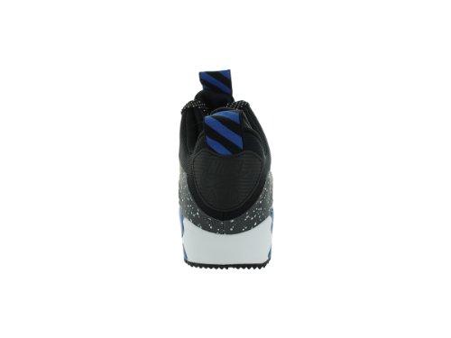 Nike Airmax 90 Sneakerboot Herren Laufschuhe 616314-003 Schwarz / Schwarz-Dunkelgrau-Metallic-Silber