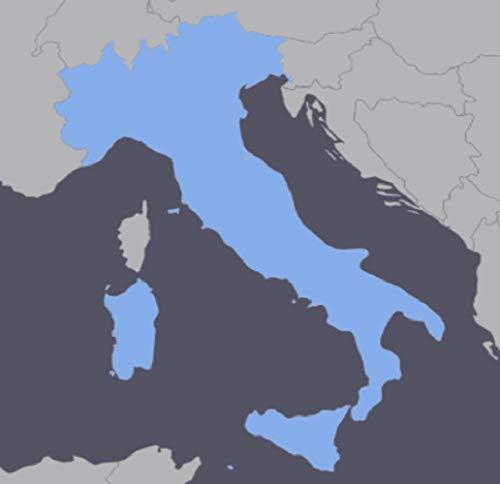 TOPO Italy GPS Map for Garmin