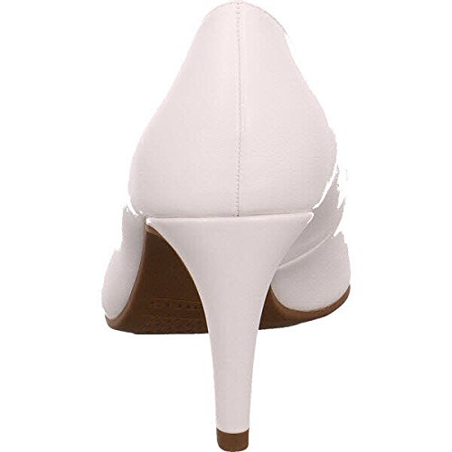 Tamaris 22447, Zapatos de Tacón para Mujer, Blanco (White Matt), 35 EU