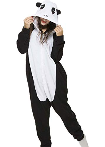 Surelove Unisex Adult Costumes Pyjamas Panda Onesie One Piece Cosplay -