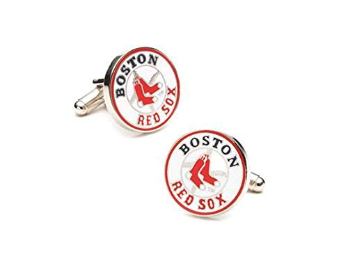 Boston Red Sox Silver Cuff Links ()