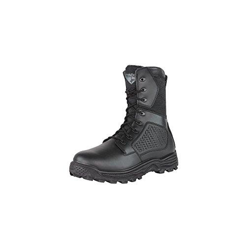 CONDOR Men's Murphy Zip 9'' Tactical Waterproof Boots, Black Leather, Nylon Fabric, 13 E (Tactical Boot Leather Waterproof Professional)