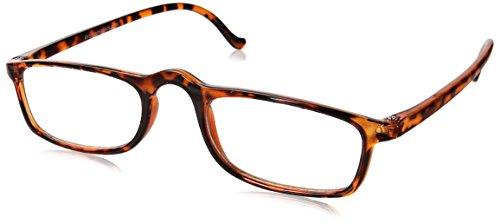 Dr. Dean Edell Calexico Reading Glasses, Tortoise (+1.75)