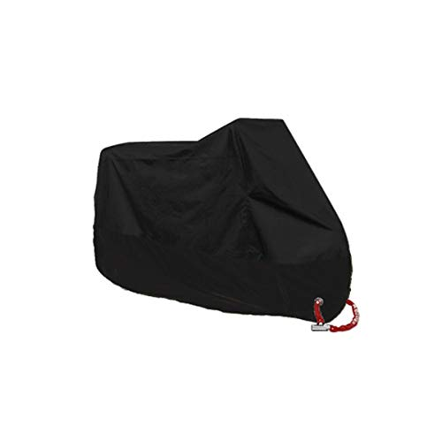 190t Polyester - Fanboy Motorcycle Cover 190T Polyester 210D Oxford Waterproof/Dust-Proof/Sunscreen with Metal Anti-Theft Lock Hole