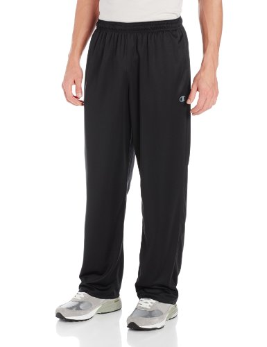 Champion Men's Powertrain Knit Training Pant, Black, Medium