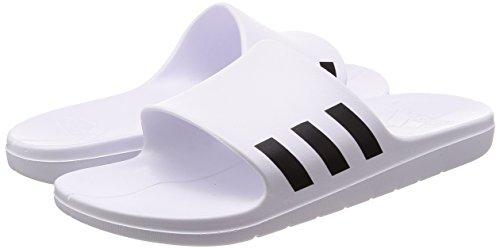 Adidas Pour 000 Plage De Homme Ftwbla ftwbla Blanc Aqualette Negbas Piscine Chaussures Et r7YrxC