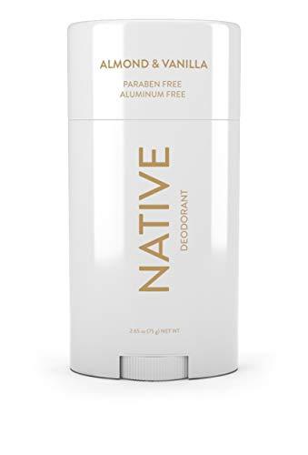Native Deodorant - Natural Deodorant - Vegan, Gluten Free, Cruelty Free - Free of Aluminum, Parabens & Sulfates - Born in the USA - Almond & Vanilla
