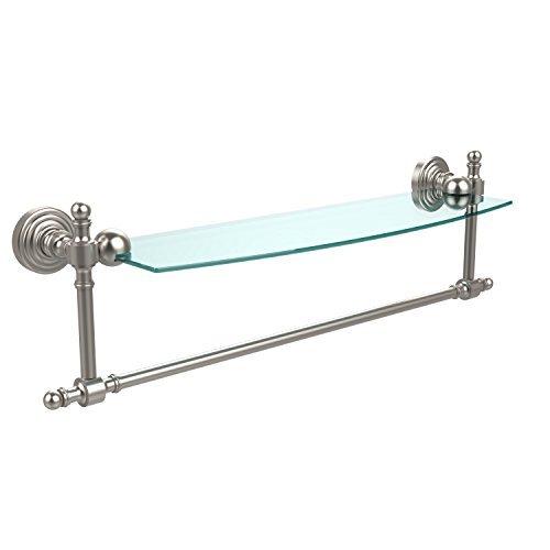 Allied Brass RW-33/24-SBR 24 Glass Shelf Satin Nickel by Allied Brass