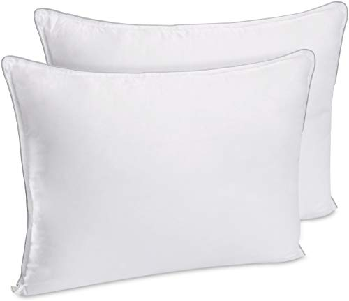 Utopia Bedding Extra Lush Fiber Polyester Filled Bed Pillows