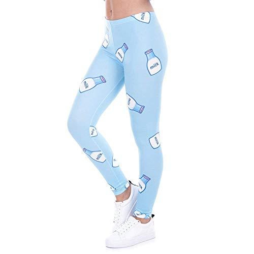 Stampato Vita Yoga Legins Donna Leggins Di Slim A Giovane Fashion Lga43462 Alta Rosa Legging Avocado Pantaloni Leggings wSHtfq6
