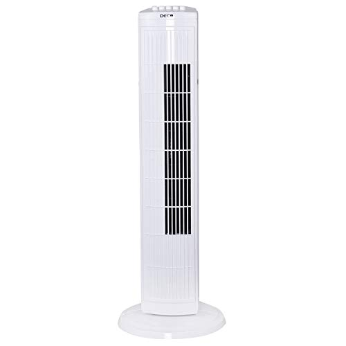 Deco Air Tower Popular Indoor Fan (White, 45 W)