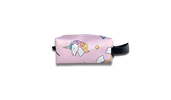 Novelty Colorful Lucky Rainbow Horse Portable Evening Bags Clutch Pouch Purse Handbags Cell Phone Wrist Handbags For Womens