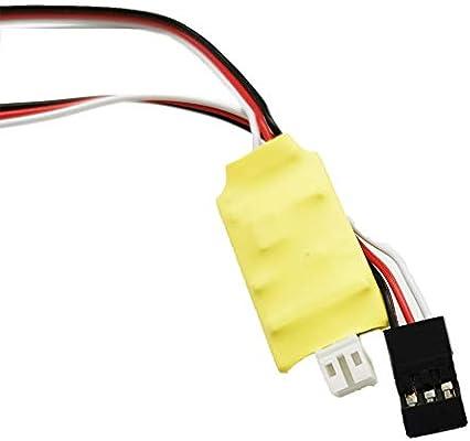 ZAK168 Mini Winch Durable Electronic Control Automatische Winde F/ür 1//16 WPL B14 B24 B26 C14 MN90