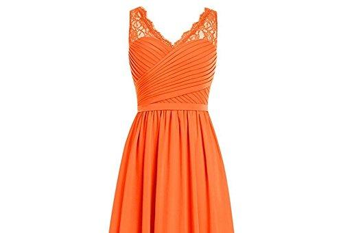 Leader of the Beauty - Vestido - para mujer naranja naranja 46