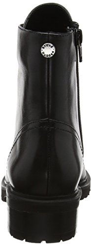 017 017 Stivaletti Black Ankleboot Lindia Leather Madden Madden Nero Donna Steve 8tHZfTwqw