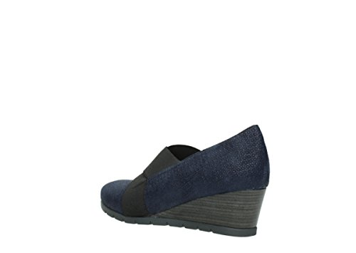 Shoes Fonda Comfort Printed Blue Court Suede 90803 Wolky Fw6E7Eq