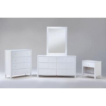 Night and Day Furniture Zest Mirror in Cherry Finish by Night & Day Furniture (Image #1)