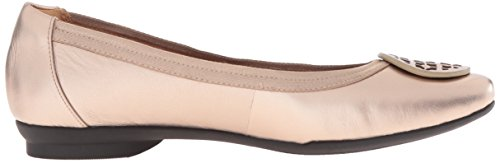 Clarks Women's Candra Blush Flat, Gold/Metallic, 10 M US by CLARKS (Image #7)