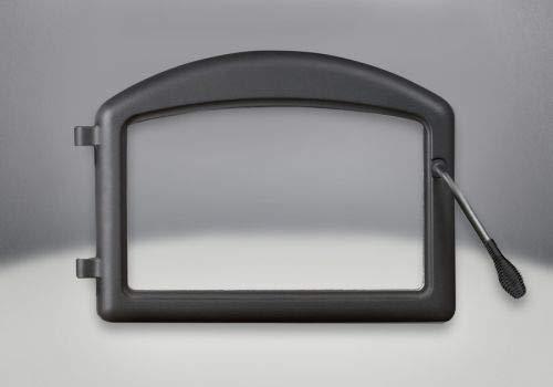 Napoleon Arched Metallic Black Cast Iron - Door Cast Arched Iron