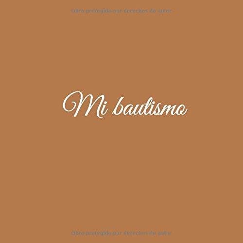 Amazon.com: Mi bautismo: Libro De Visitas Mi bautismo para ...