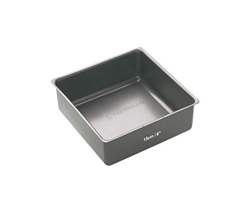 Kitchen Craft Molde con Base Suelta, Acero, Gris, 16.3x20.4x5.9 cm
