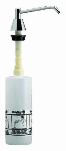 7.125 Spout - Bradley 6326-000000 Lavatory Mounted Soap Dispenser, 16 oz. Capacity, 6