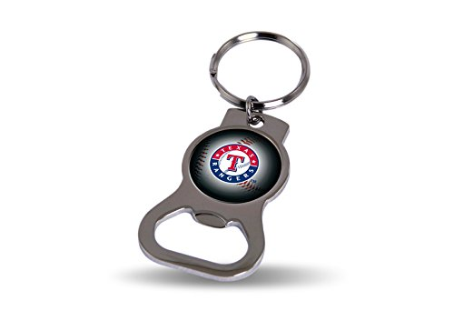 Rico Texas Rangers Official MLB 3 inch Bottle Opener Key Chain Keychain 747695
