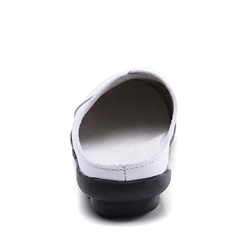 Red Boat Bottom Pure Work Summer Flats Coffee Ladies Black White Girls for On Color Office Blue VEMOW Slip White Women Sandals UK Home Casual Spring Shoes Yellow 2018 for Soft Soft vgfqqanx