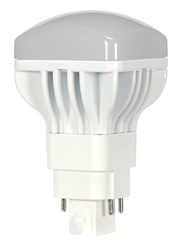 (10-Pack) Satco S9300 13W/V/LED/CFL/827/4P 13-Watt G24q Base LED Direct Replacement for PL 4-PIN CFL