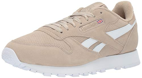 Reebok Men's Classic Leather Sneaker, Light Sand Beige, 7 M