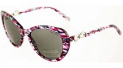Tiffany 81323F Plum Havana 4059 Round Sunglasses Lens Category - Uk And Co Sunglasses Tiffany