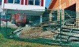 Tenax Snow Guard Fence,  Green, 4 by 50-Feet
