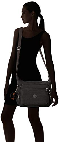 Bandolera 5x30x18 b Kipling Para Gabbie Black Negro H 5 dazz 35 T X Cm Bolso Mujer HcqqA1EzwF