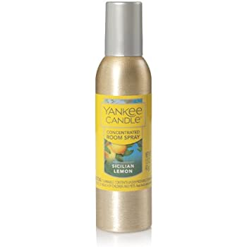 Yankee Candle Sicilian Lemon Concentrated Room Spray, Fruit Scent
