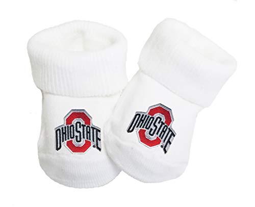 - Future Tailgater Ohio State Buckeyes Baby Toe Booties