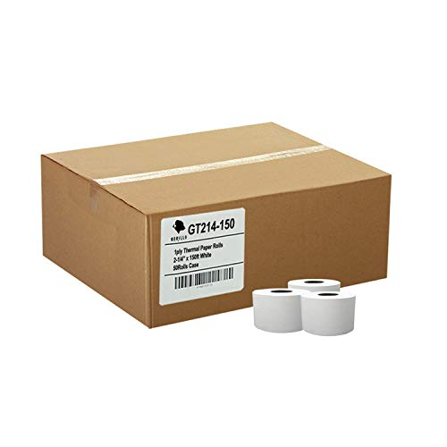 (50) 1ply Thermal Paper Rolls 2-1/4 X 150