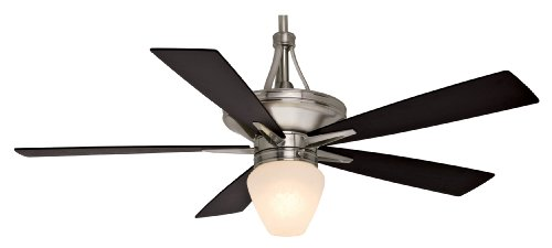 Casablanca C42G45L Colorado 60-Inch Ceiling Fan and Light, Brushed Nickel Motor with Reversible Walnut/Burnt Walnut Blades (Furniture Stores In Colorado Springs Co)