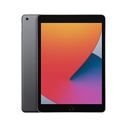2020 Apple iPad with A12 Bionic chip (10.2-inch, Wi-Fi, 32GB) – Space Grey (8th Generation)