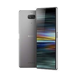 Sony Xperia 10 Unlocked Smartphone – US Warranty, Silver (I3123 – Silver)