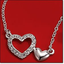 Valentine's Day Loving Heart Necklace ()