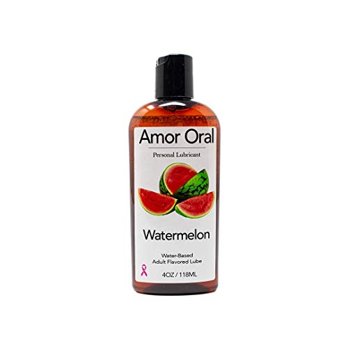 (Watermelon Flavored Lube - Edible Personal Lubricant)