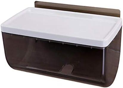 トイレットペーパーホルダー、多機能トイレットペーパーラック、防水でパンチのないティッシュ収納ボックス、バスルーム、ベッドルーム、キッチンに最適