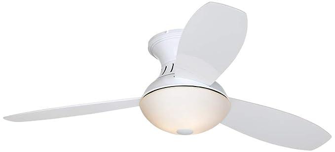 52 Encore Possini Euro Design White Hugger Ceiling Fan Amazoncom