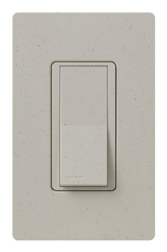 Lutron SC-3PS-ST Diva 15-Amp, 120-Volt to 277-Volt 3-Way Switch in Stone