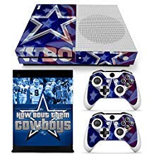 - FriendlyTomato Xbox One S Console and Wireless Controller Skin Set - Football NFL - XboxOne S Vinyl