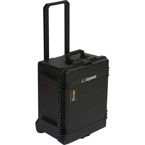 Litepanels Traveler Case Duo with Custom Foam for 1 Astra Soft and 1 Astra Regular, Black by Lite Panels