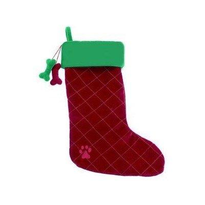Dangling Dog Bone Christmas Stocking, My Pet Supplies