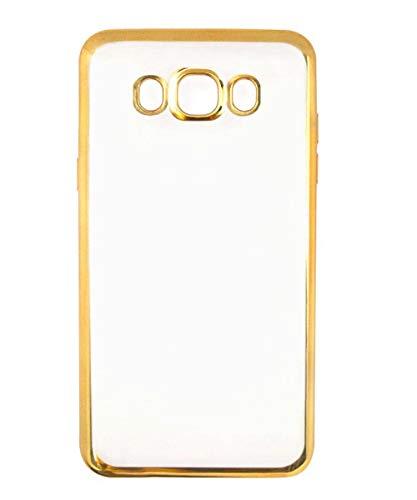 COVERNEW Back Cover Samsung Galaxy J7  2016    J710F   Transparent Golden