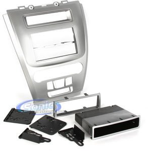 Metra 99-5821S Single or Double DIN Installation Dash Kit for 2010 Ford Fusion and Mercury Milan, - Ford Fusion Aftermarket